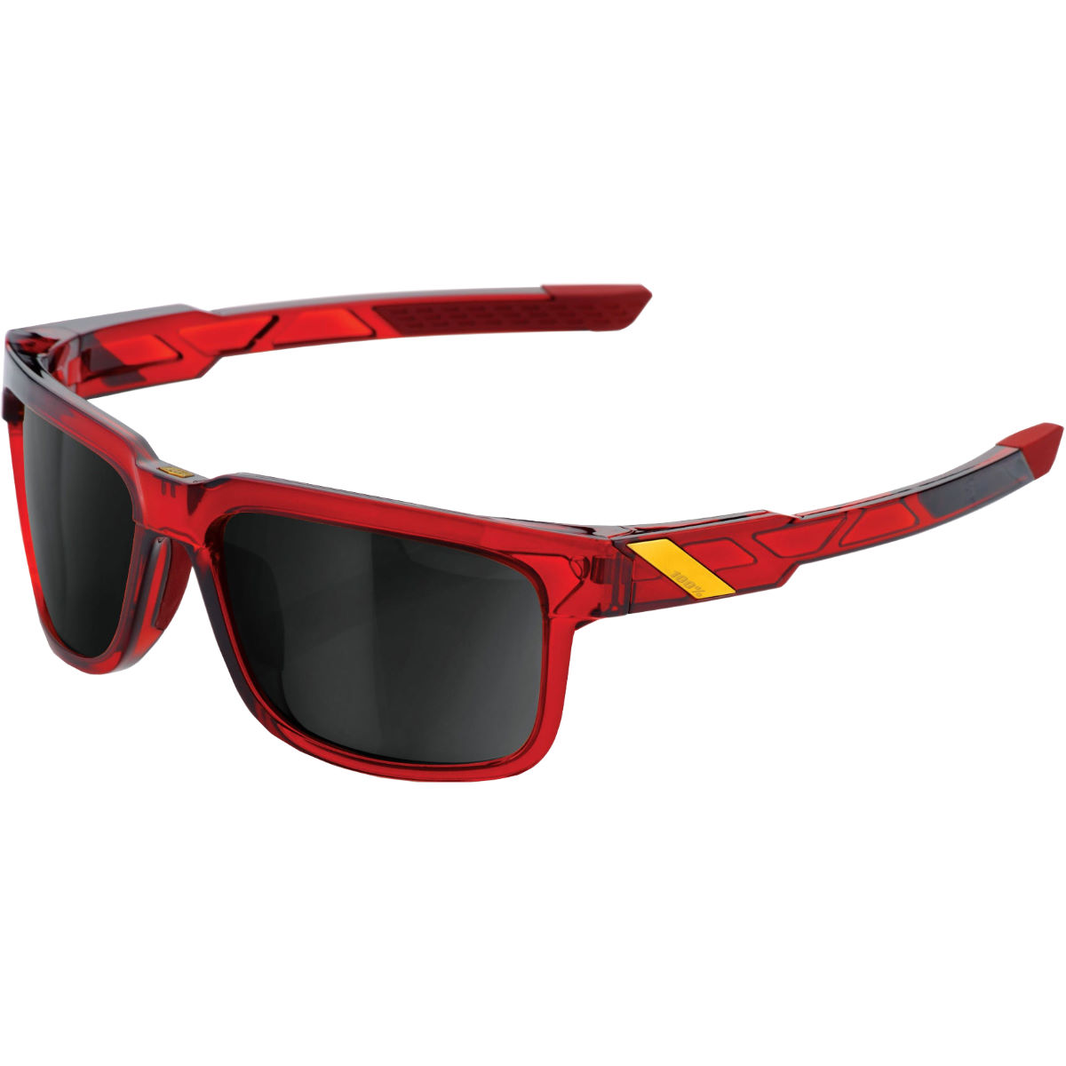 100% Type-s - Black Mirror Lens - One Size Cherry Palace  Sunglasses