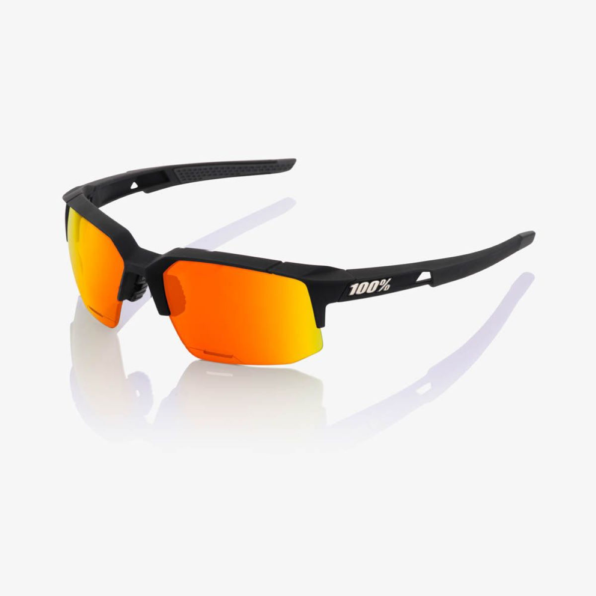100% Speedcoupe - Hiper Red Multilayer Mirror Lens - One Size