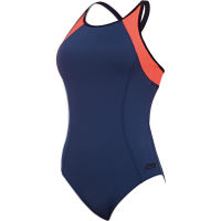 Zoggs Womens Heron Dash X Back Swimsuit
