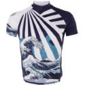 Primal Great Wave Sport Cut Jersey