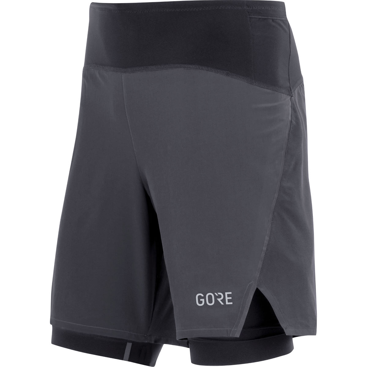 Gore Wear R7 2in1 Shorts - Extra Extra Large Black  Shorts