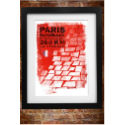 Cycling Souvenirs - Paris Roubaix A3 ポスター