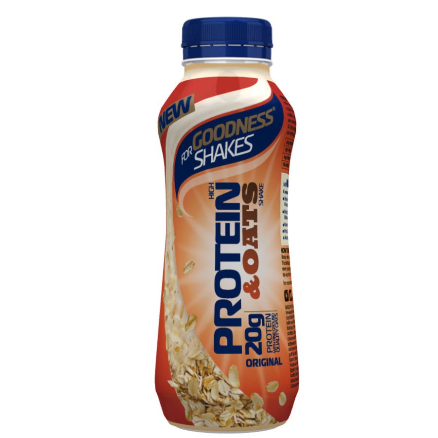 Wiggle For Goodness Shakes Protein And Oats Drink