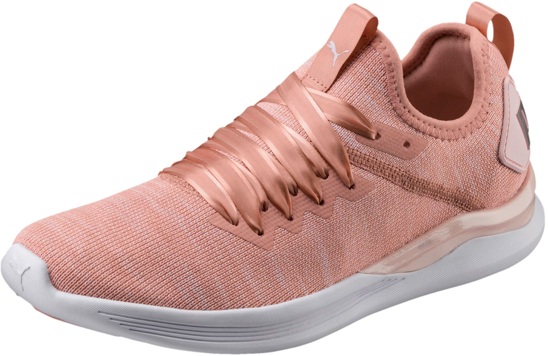 Chaussures Flash RunningPuma Ignite Ep Evoknit De Satin Women's 1KTJ3Flc