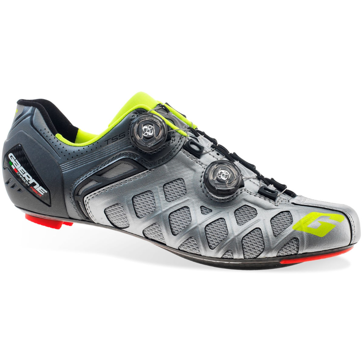 Zapatillas de carretera Gaerne Carbon Stilo Summer SPD-SL - Zapatillas para bicicletas de carretera