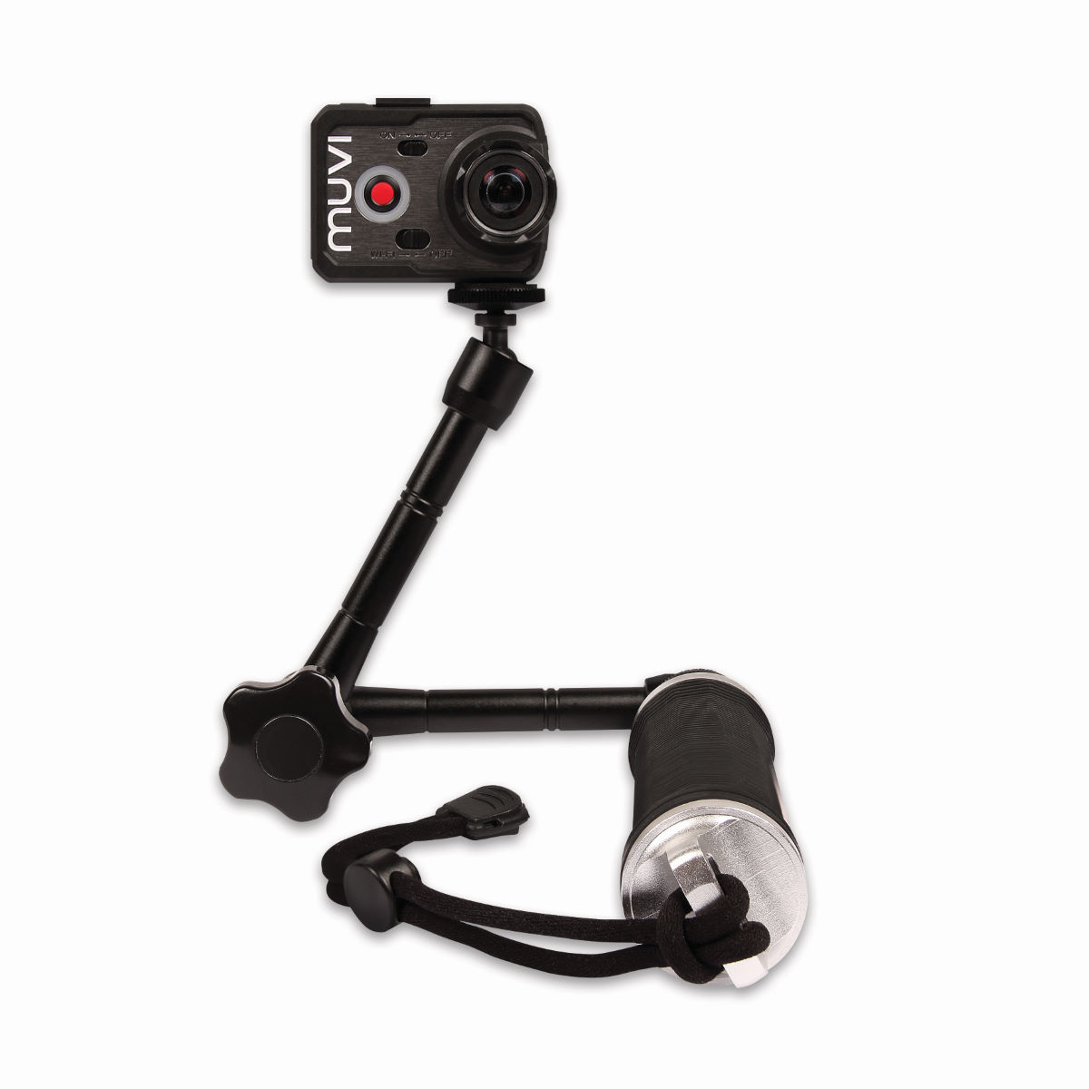 Veho Veho Muvi 3 Way Monopod with Extended Arm   Camera Spares
