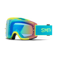Smith Squad Mtb  Acid Split Clear Lens