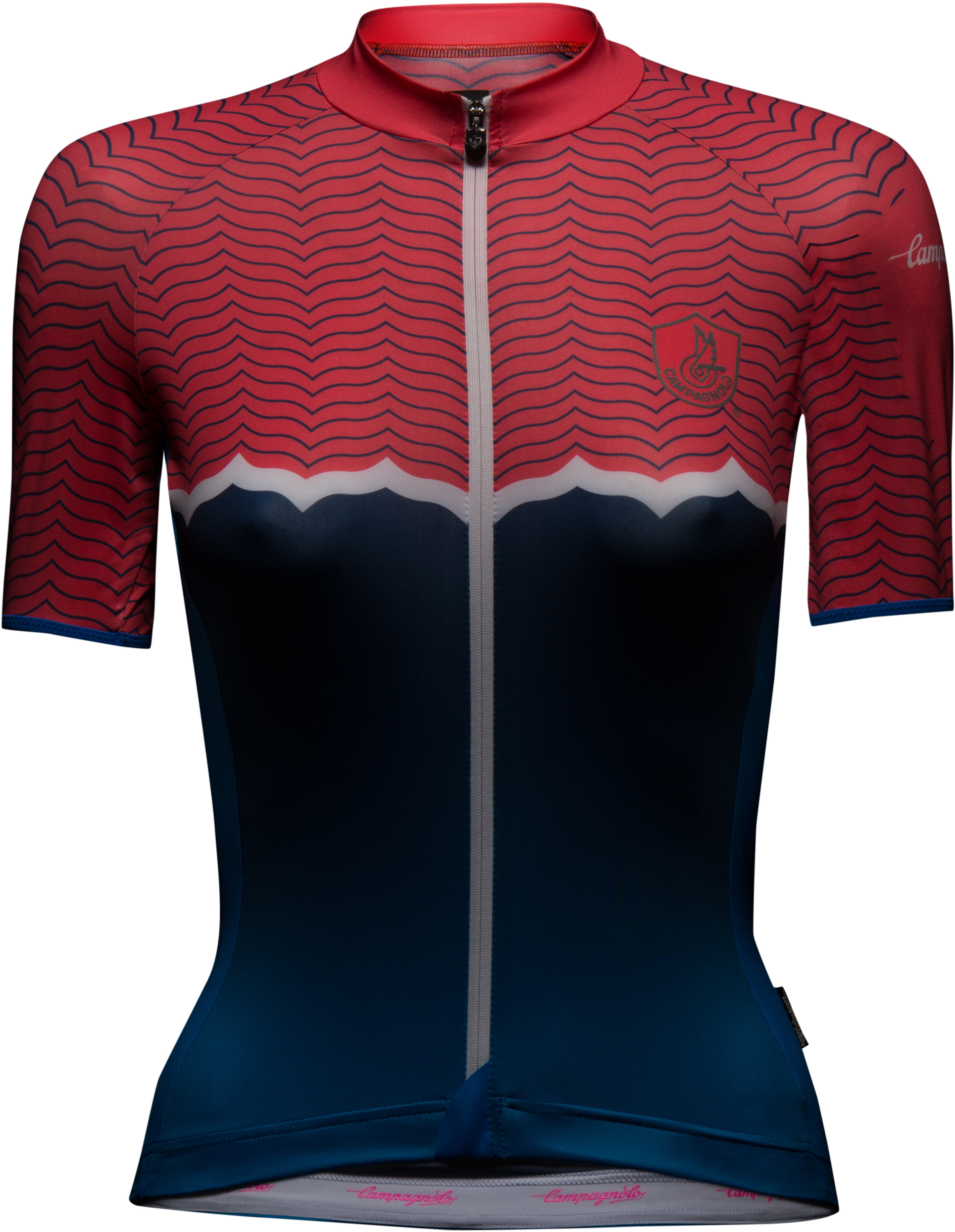 Campagnolo Quarzo Women Jersey - Red/Turquoise | Trøjer