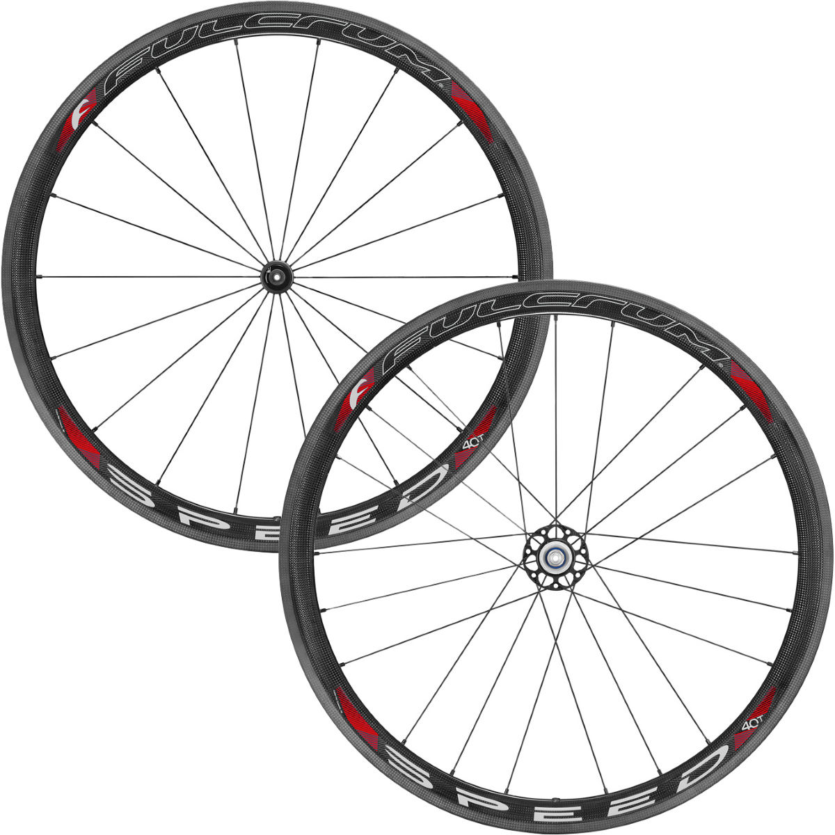 Road wheels set Fulcrum SPEED 40T Carbon for tubular - Competition wheels
