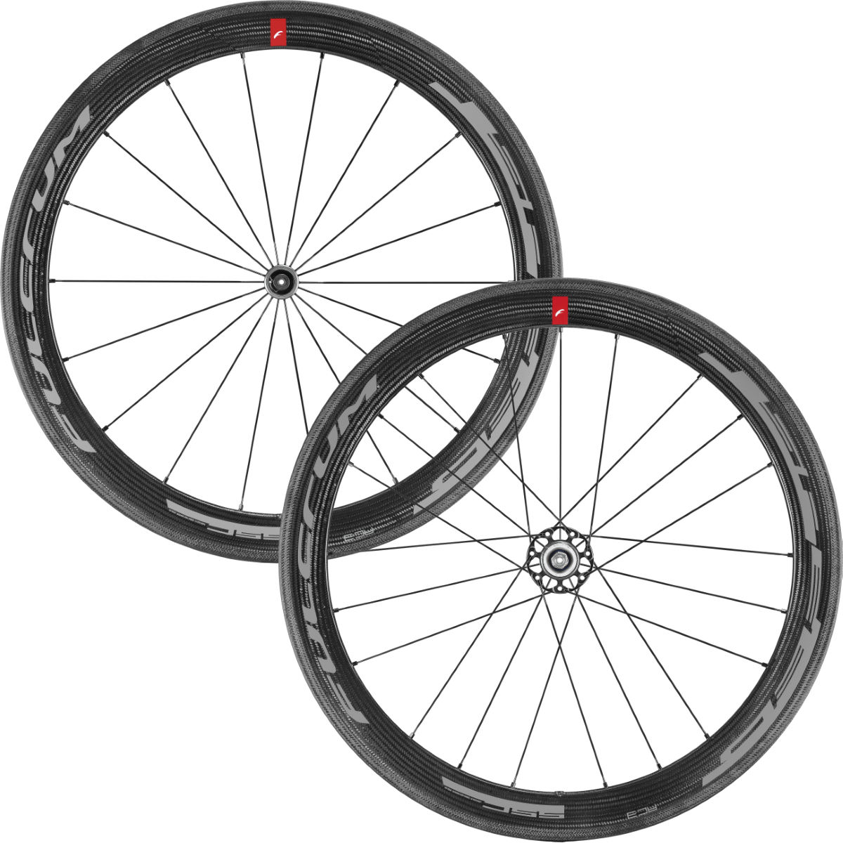 Road wheels set Fulcrum SPEED 55C C17 Carbon - Competition wheels