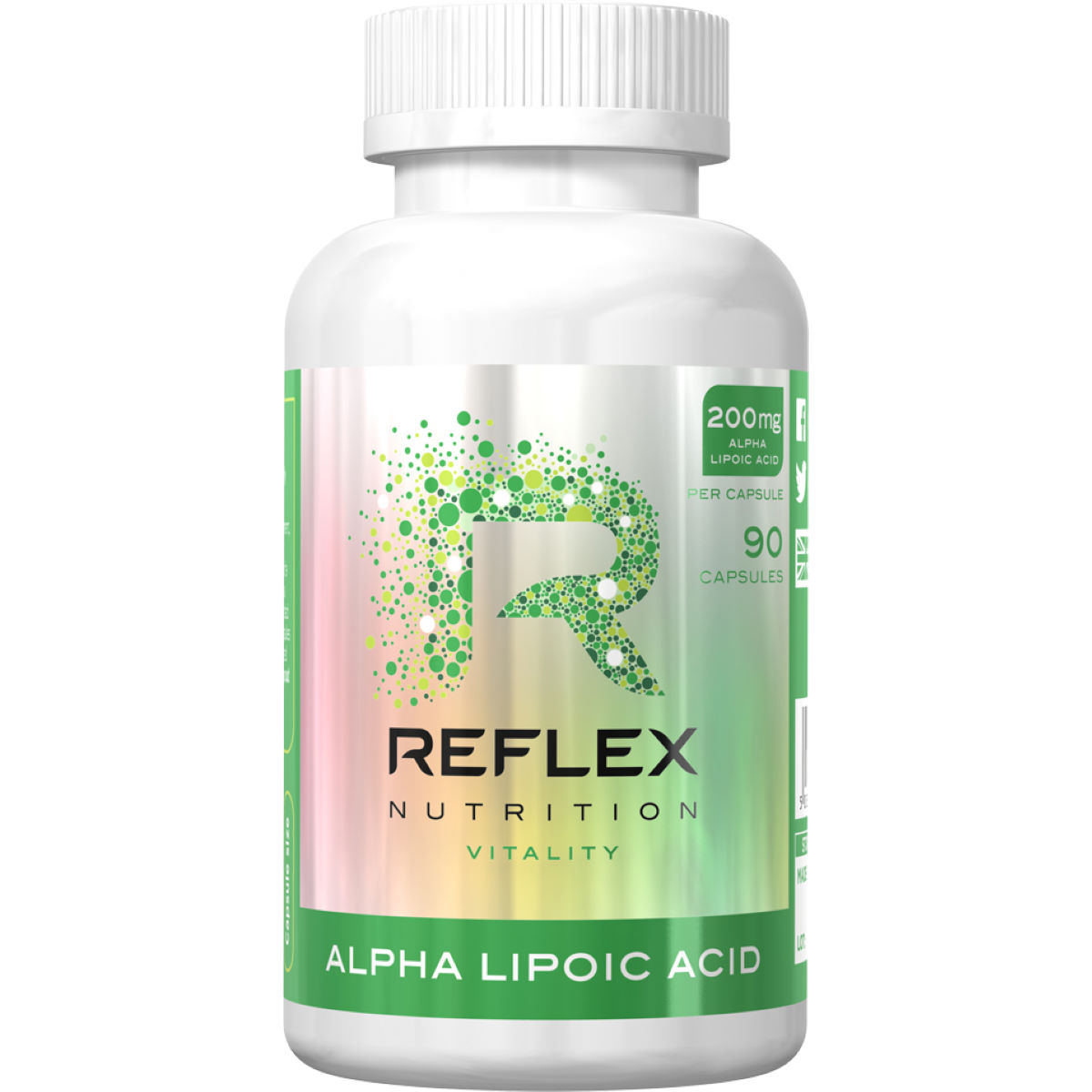 Reflex Reflex Alpha Lipoic Acid (90 Capsules)   Supplements