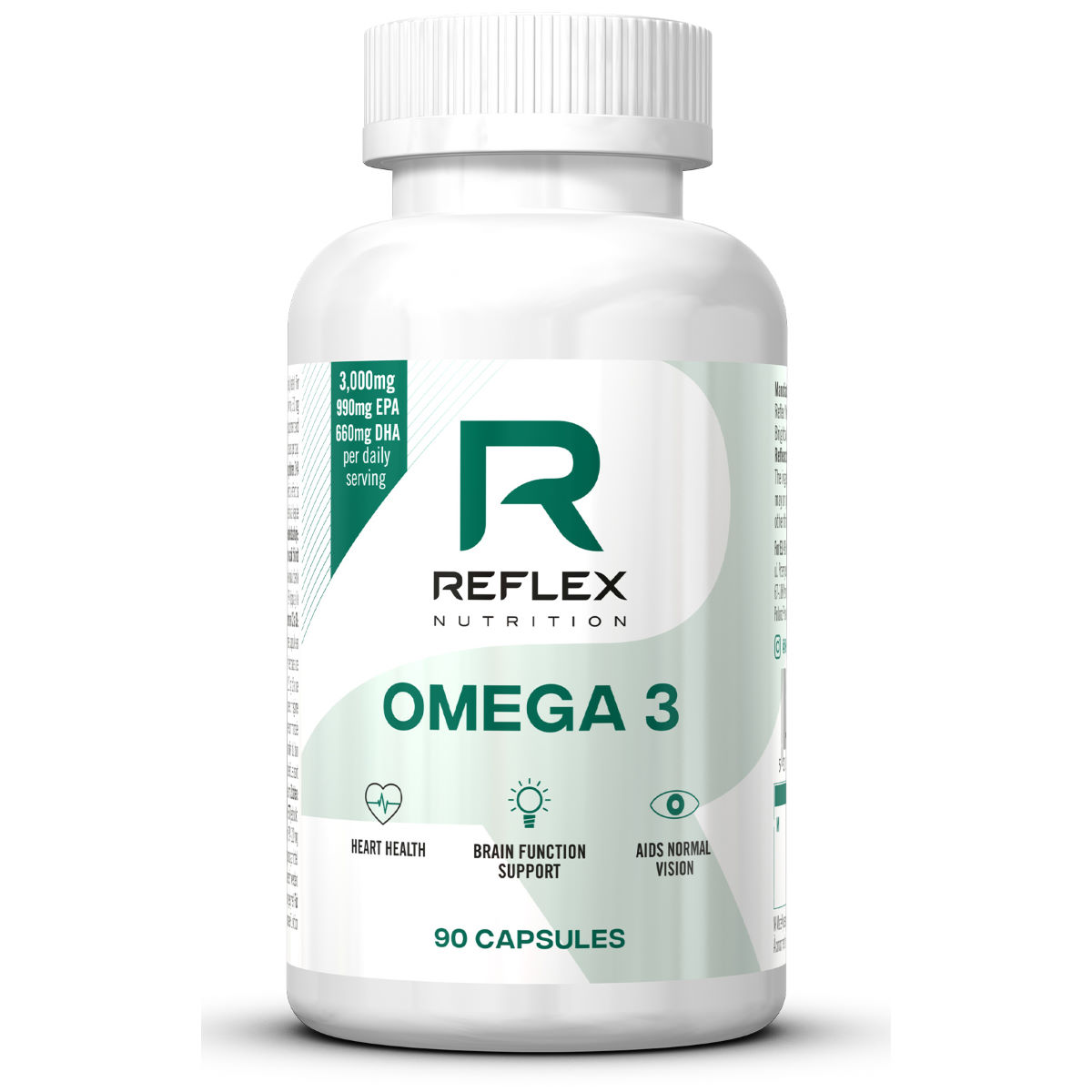 Reflex Omega 3 (90 Capsules) - 90 Capsules Unflavoured  Omegas