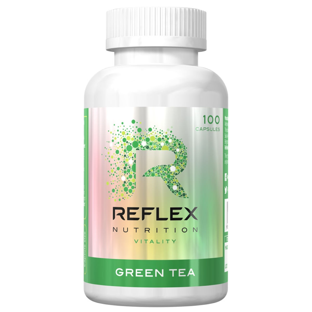 Reflex Reflex Green Tea Extract (100 Capsules)   Super Greens