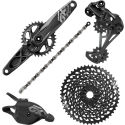 SRAM GX Eagle Boost GXP Groupset:Black:175mm:Option 1
