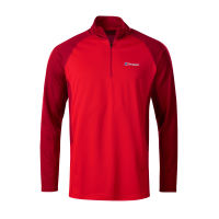 Berghaus Tech Tee LS Zip 2.0