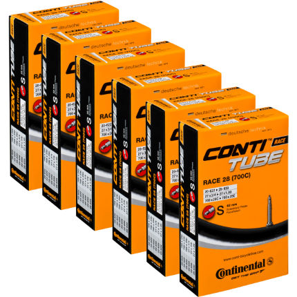 Continental Quality Road Inner Tube Black 20mm-25mm Presta 42m