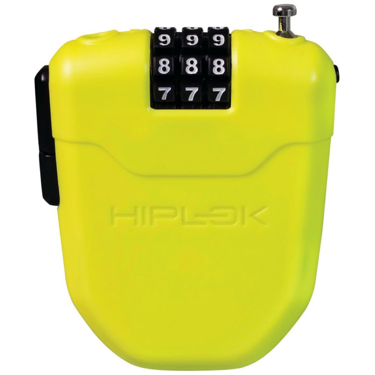 Hiplok Fx Wearable Combination Lock - One Size Lime  Cable Locks