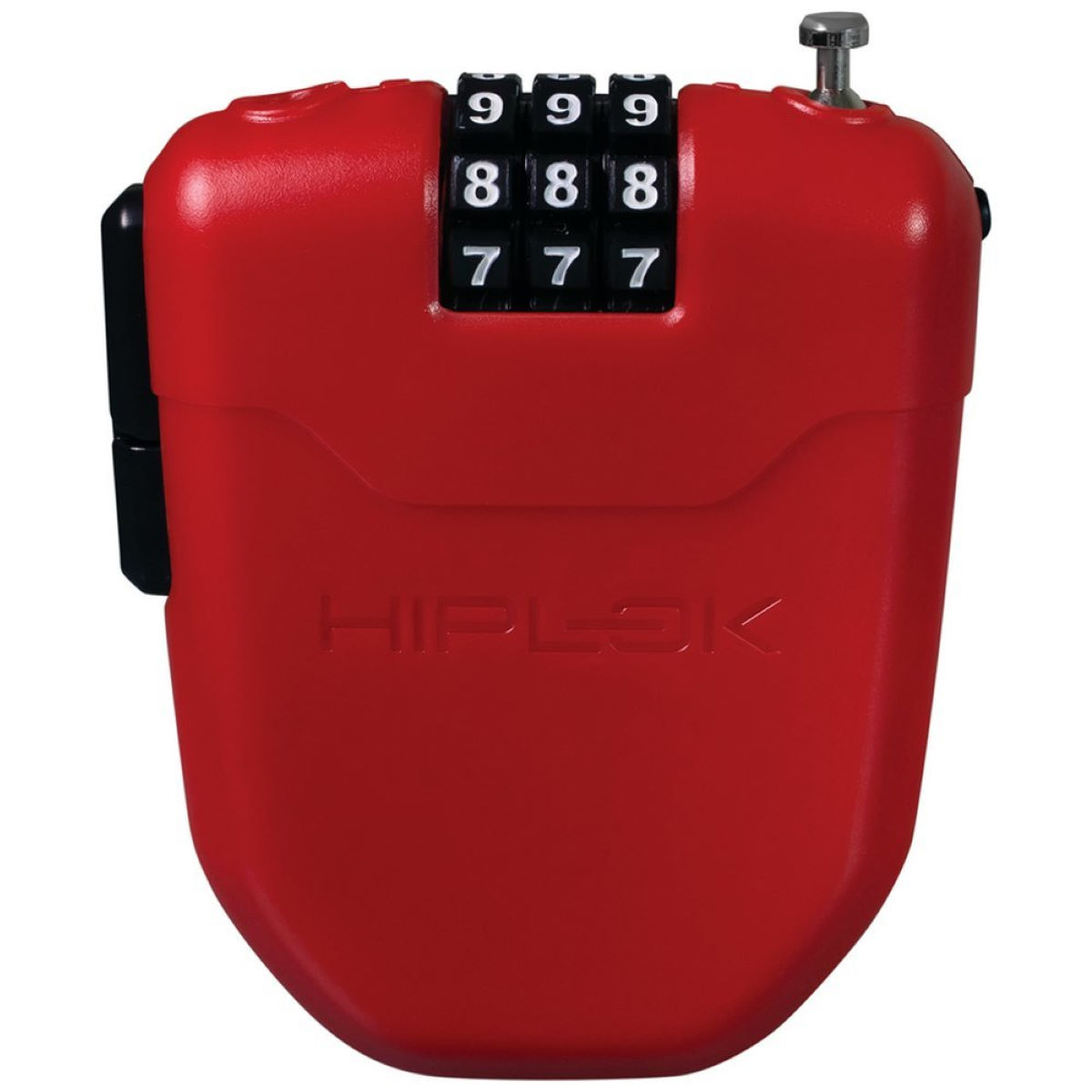 Hiplok Fx Wearable Combination Lock - One Size Red  Cable Locks