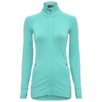 Icebreaker Womens Fluid Zone Merino LS Full Zipper Top