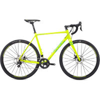 Fuji Cross 1.7 : Cyclo-Cross Bike:Stock Bike:Yellow:58c