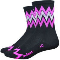 DeFeet Aireator Speak Easy Cykelstrumpor (4 tum)