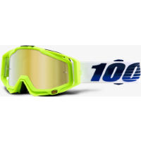 100% RACECRAFT GP21 - Mirror Gold Lens