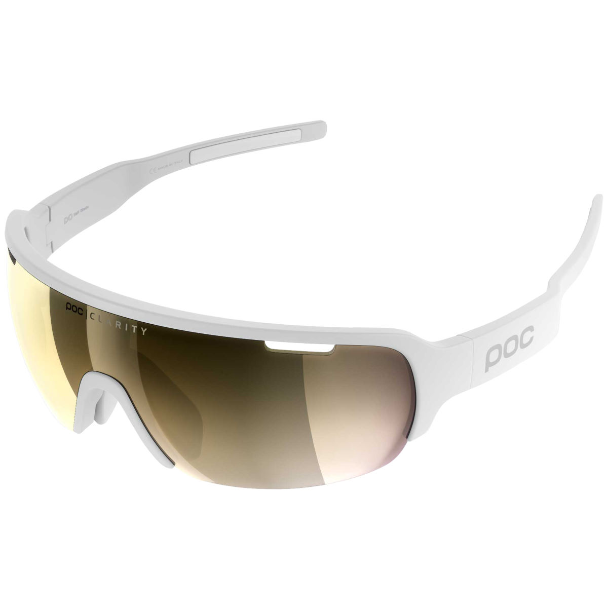 Poc Do Half Blade Clarity Avip Sunglasses - One Size White/white