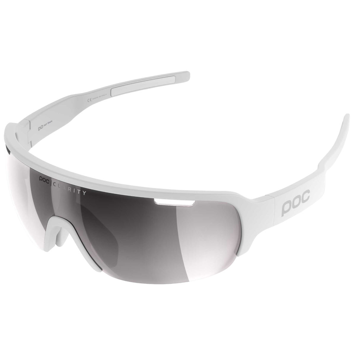 Poc Do Half Blade Clarity Avip Sunglasses - One Size White/silver