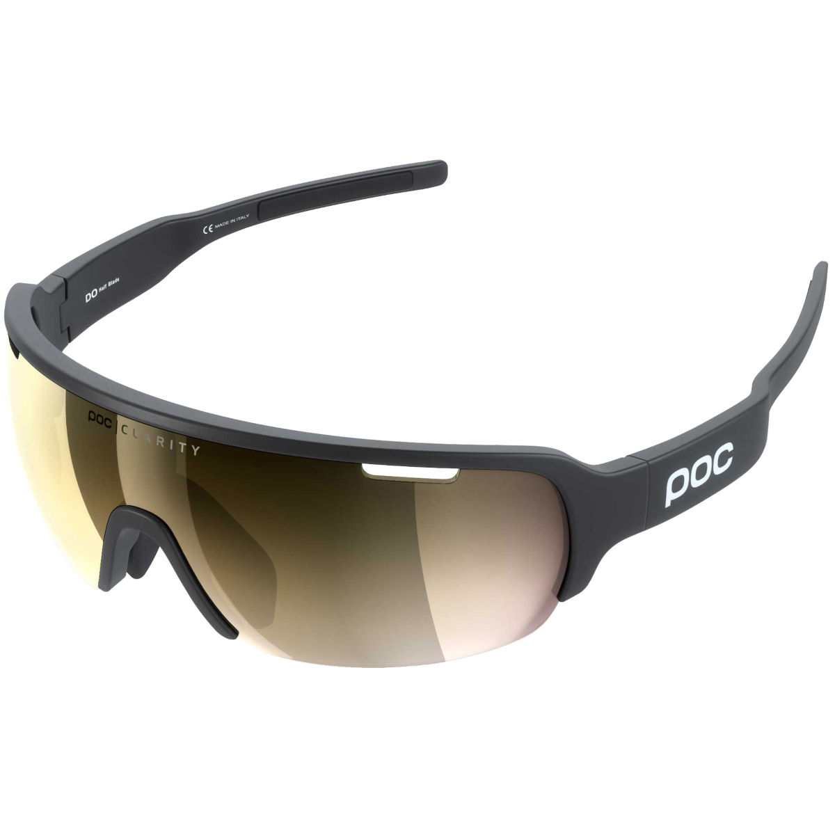 Poc Do Half Blade Clarity Avip Sunglasses - One Size Black/gold