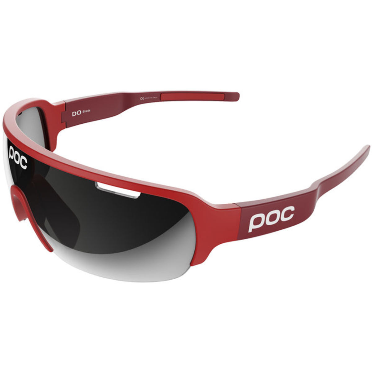 Poc Do Half Blade Clarity Avip Sunglasses - One Size Red/red