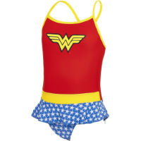 Zoggs Tots Wonder Woman Swimdress