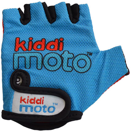 Kiddimoto Blue Gloves