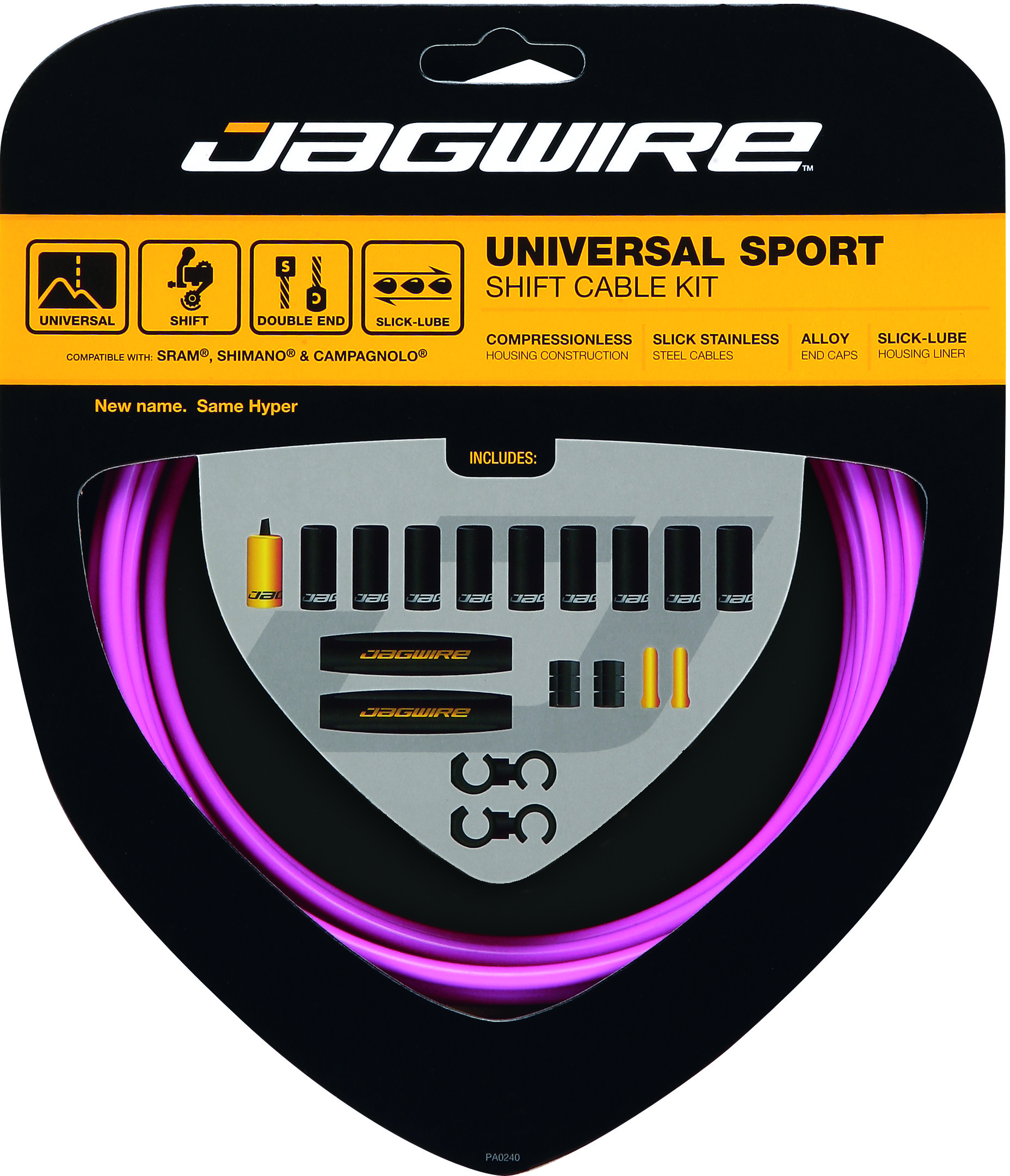 Jagwire Universal Sport Gear Cable Kit | Gear cables