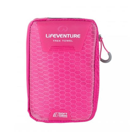 Lifeventure SoftFibre Advance Trek Towel - Large (Pink)