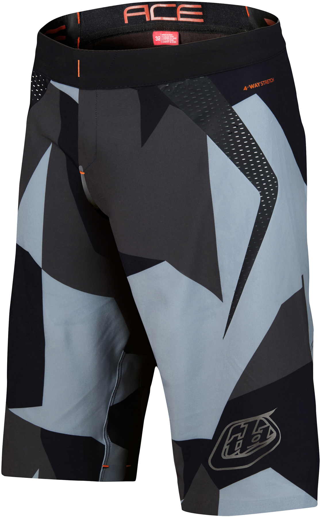 Troy Lee Designs Ace 2.0 MTB Shorts with Bib Shorts | Trousers