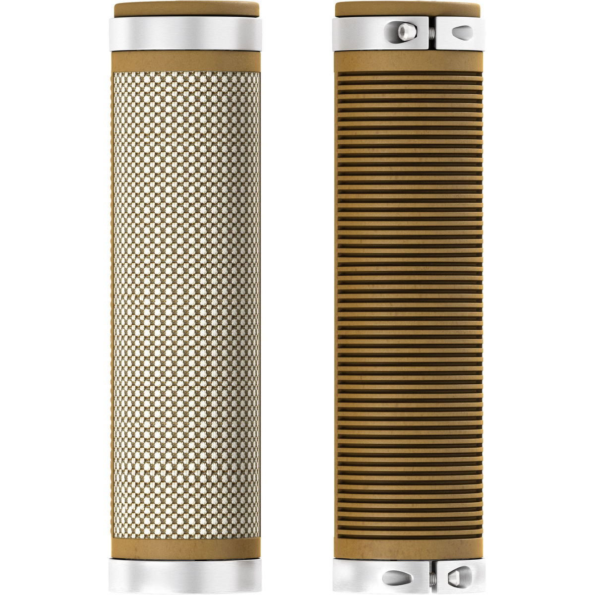 Brooks England Cambium Comfort Grips - 130mm/130mm Brown - Natural
