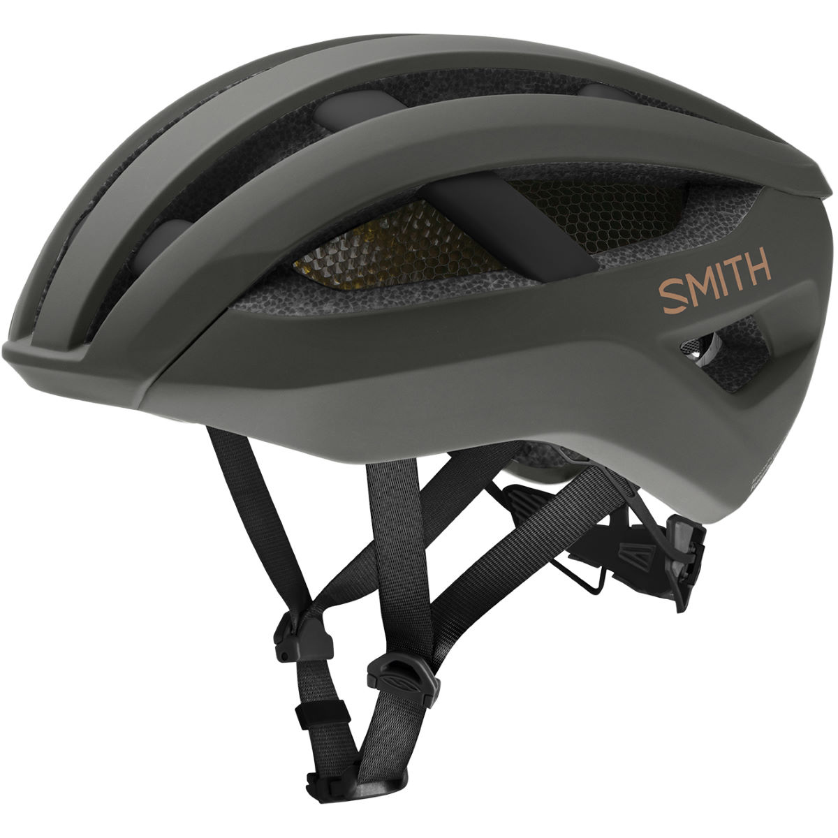 Image of Casque Smith Network MIPS - S Matte Gravy | Casques