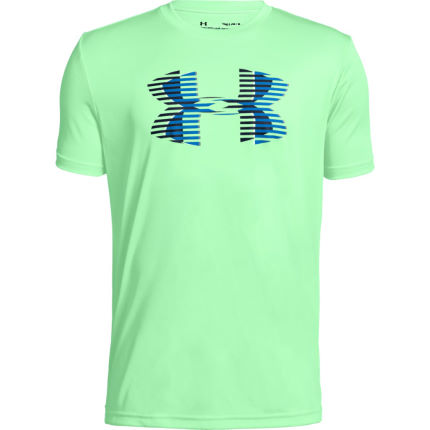Under Armour Boys Tech Big Logo Solid Tee