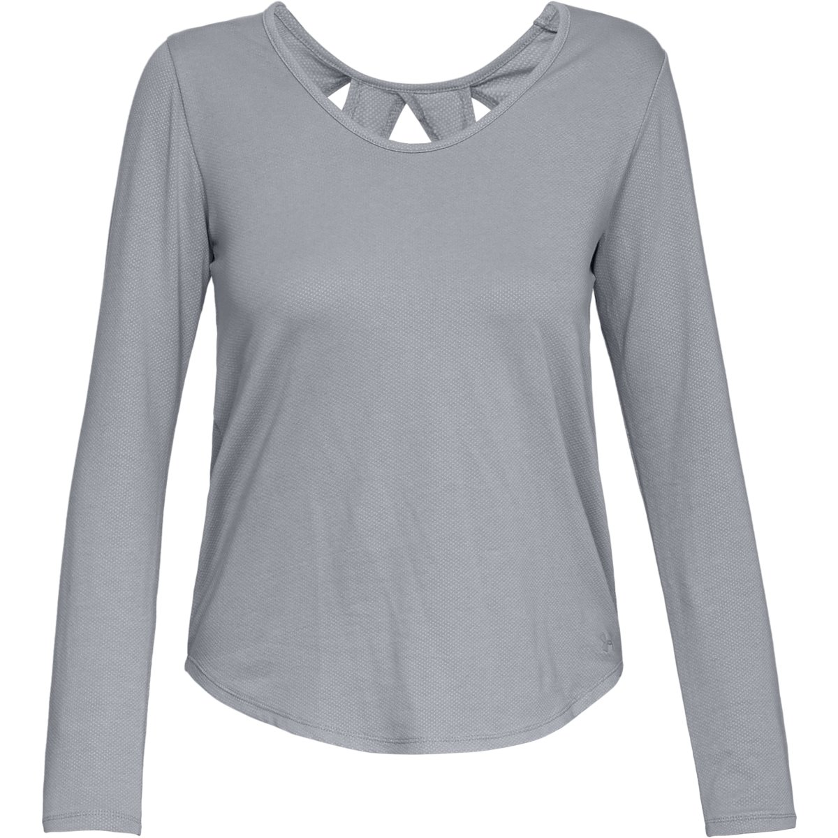 Under Armour Women's Pindot Open Back LS | Amour