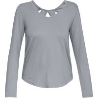 Under Armour Womens Pindot Open Back LS