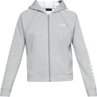 Under Armour Womens Rival Fleece Full Zip Hoodie