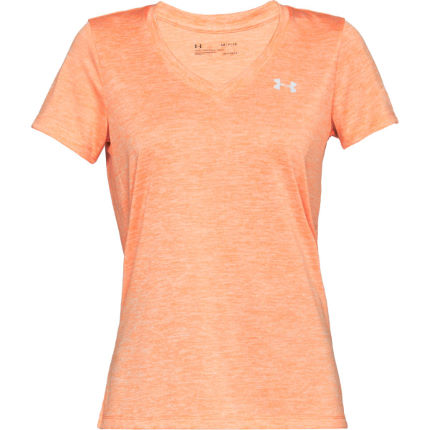 Under Armour Women's Tech Twist V-Neck Gym Top