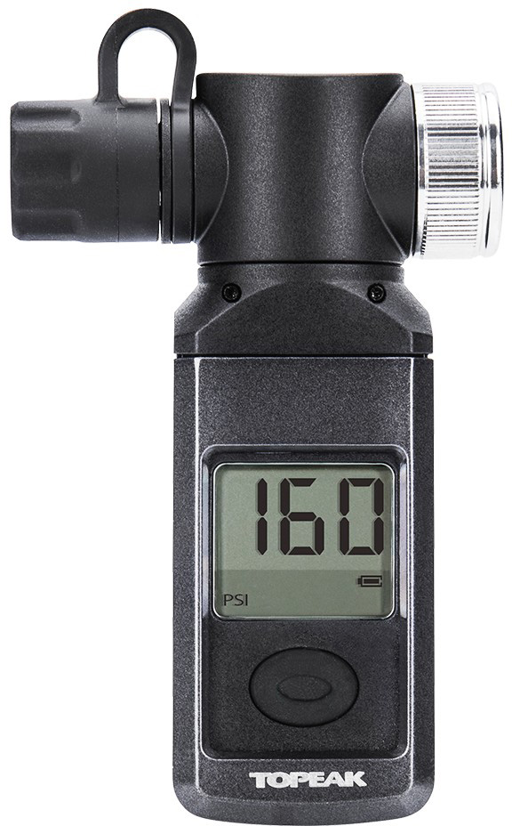 Topeak Shuttle Digital Bike Tire Pressure Gauge Presta Schrader Max 300psi