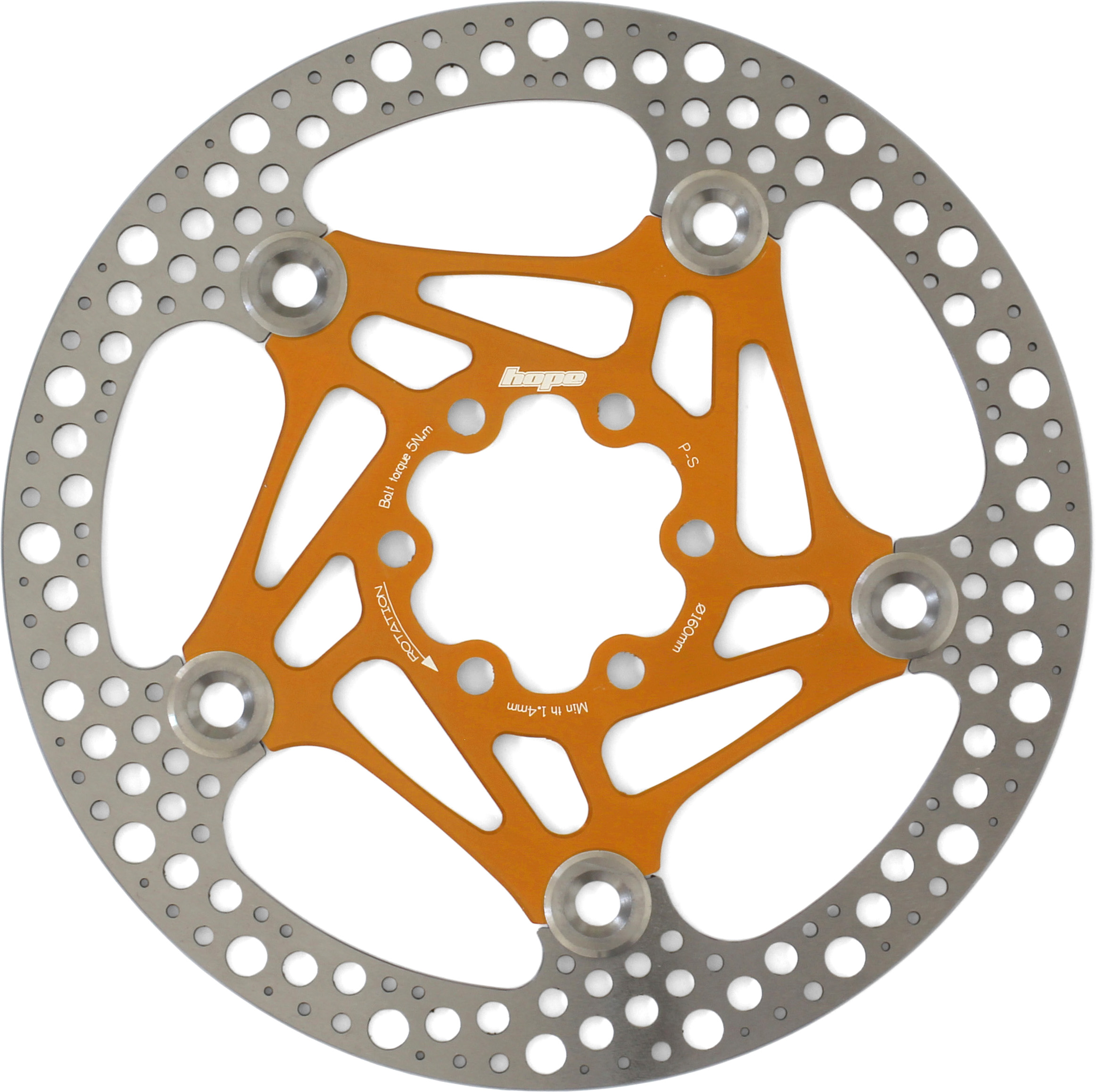 All Colors Brand New Hope 6 Bolt 160mm Road Floating Disc Rotor