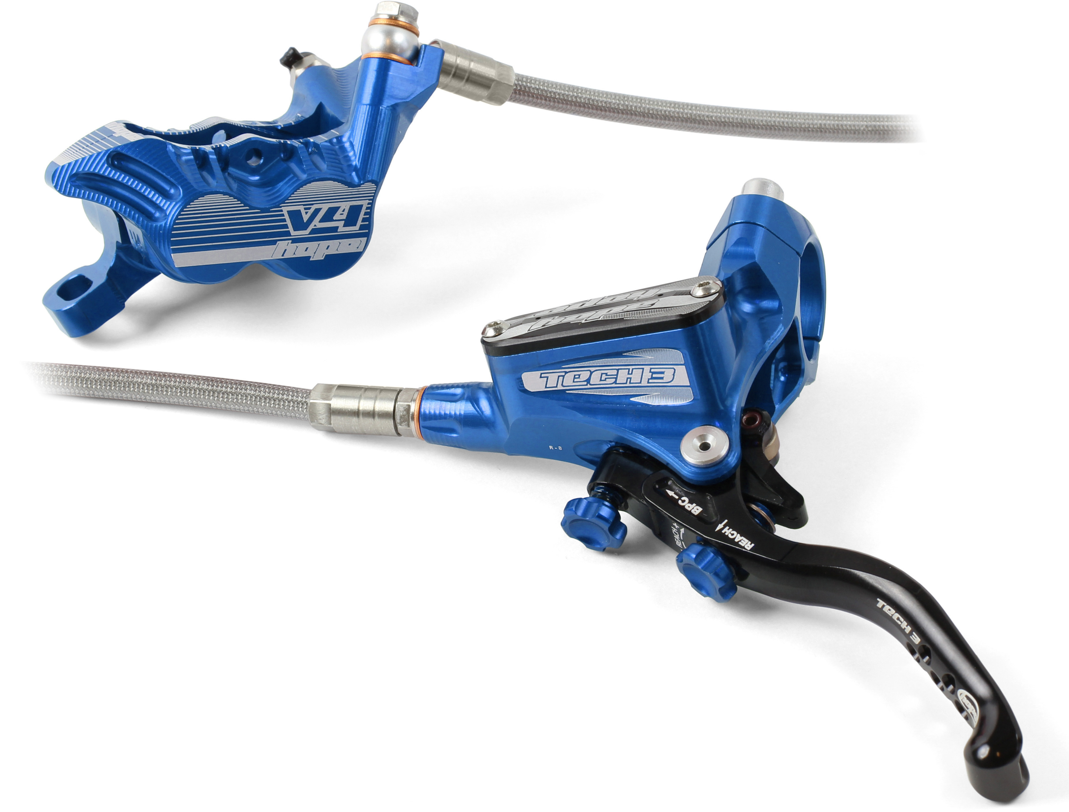 New rear and front brake HOPE TECH 3 V4