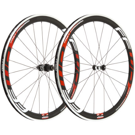Fast Forward Carbon F4 Clincher 45mm SP Wheelset:White:700c:Shi