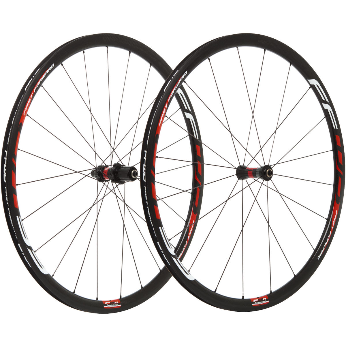 Image of Paire de roues Fast Forward F3R FCC SP (carbone, 30 mm) - 700c Shimano