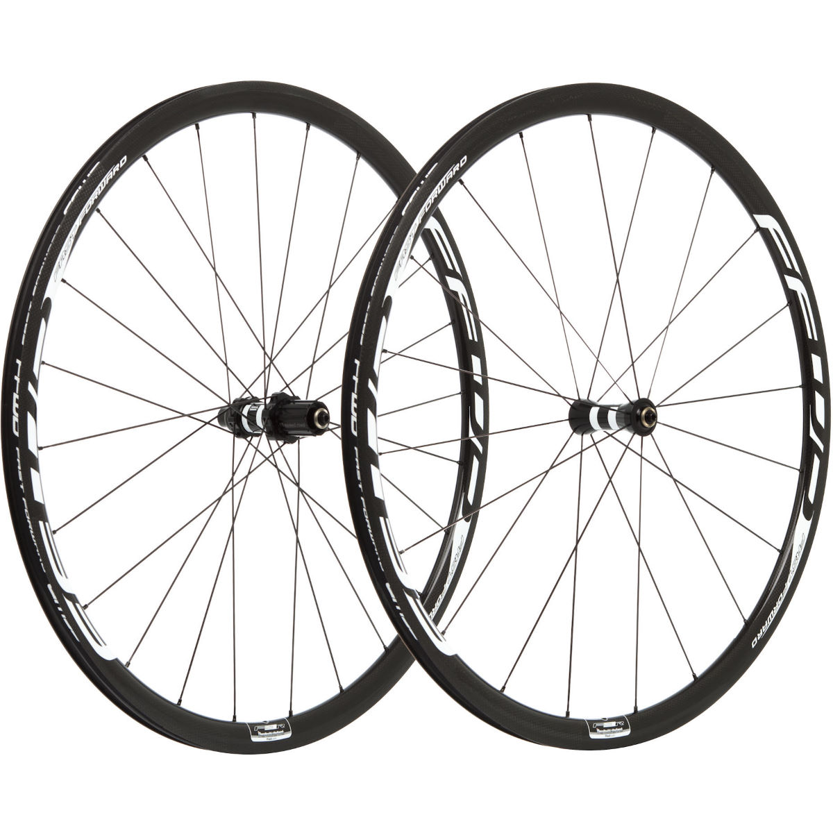 Image of Paire de roues Fast Forward F3R FCC SP (carbone, 30 mm) - Shimano 700c