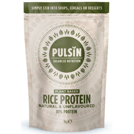 Pulsin Rice Protein Powder (1kg)