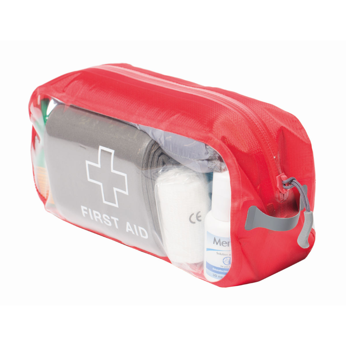 Exped Clear Cube First Aid Small - Os Red  First Aid Kits